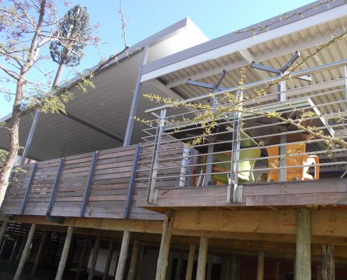 Custom Awning Projects always require a professional installer