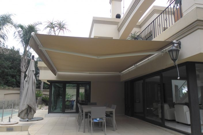 What is the life-span of canvas awnings? If properly cared for, canvas awnings will give you more than a decade of service. Using only imported non-fade canvas that is dyed and clean-guarded to resist staining a canvas awning adds exterior space while avoiding the need for messy and expensive construction. These are available as either fixed or retractable extensions to your property and are guaranteed for five years.