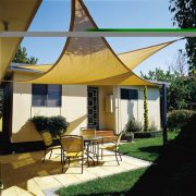 Awnings are virtually maintenance-free. Simply wash with mild soap and water, NOT Detergent. In saltwater areas, we suggest rinsing the frame.