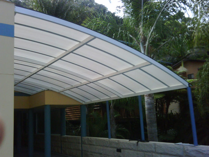 Acting like a shield from ultra-violet rays, polycarbonate sheeting is nevertheless a wonderful light transmission material. This image was edited and uploaded by Awning Warehouse based in Randburg Johannesburg - Best for Awnings and any type of Awning. Awning Lifestyle in South Africa
