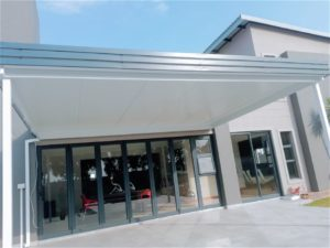 Insulated roof for patios and entrance ways in Sunninghill