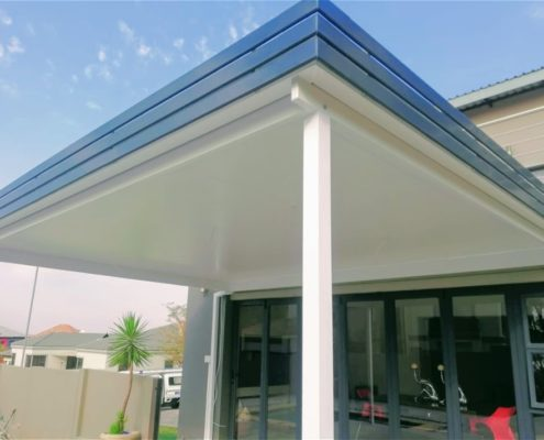 IsoSpan Insulated roof is an affordable way for new life into outdoor entertainment spaces