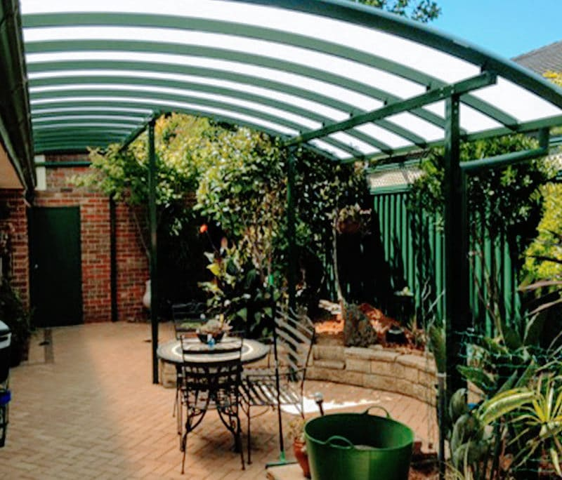 Polycarbonate is transparent or opaque and is tougher than glass or fibreglass