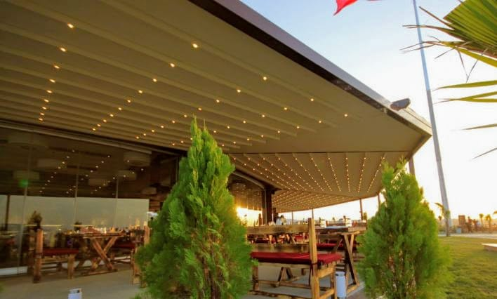 Retractable Awnings can open up any public space