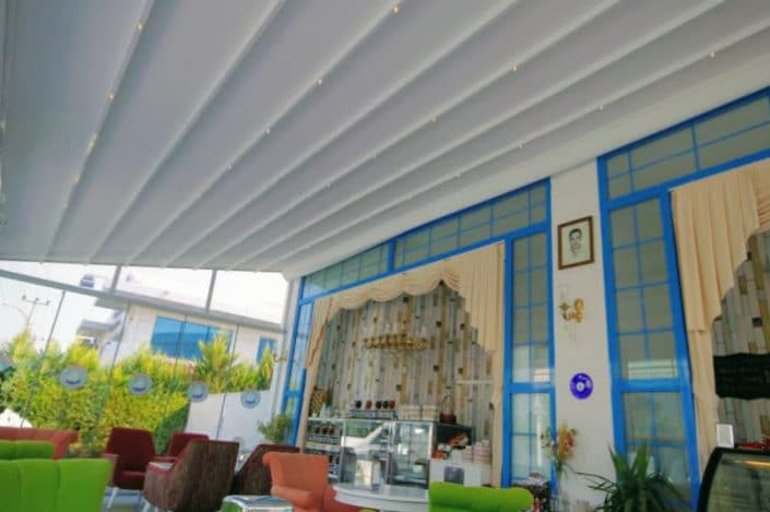 Retractable Awnings for a conservatory
