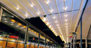 Waterproof Retractable Awning Roof