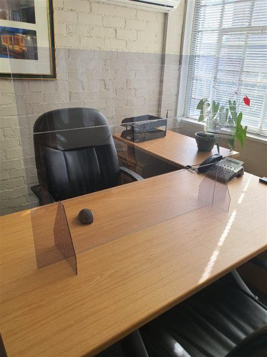 Desk Screen with no cutout