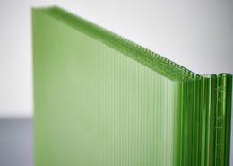 Glazing Material Danpalon Microcell Green